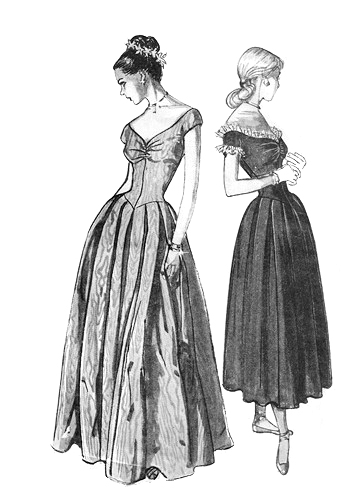 2 in gowns